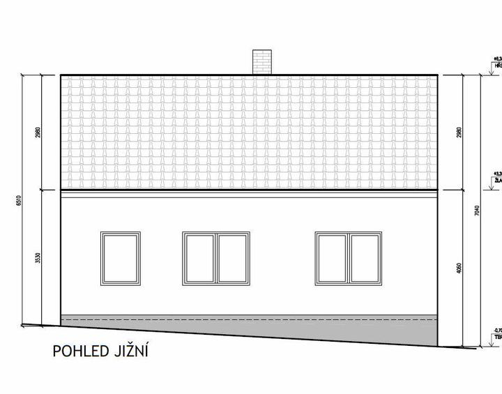 Domeček rekonstruujeme pro rodiče - Pohled z ulice nový stav