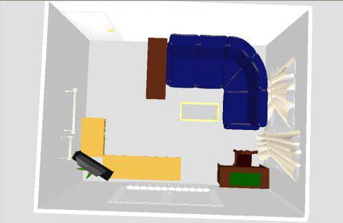 Naše bydlení - Chystáme změnu obýváčku