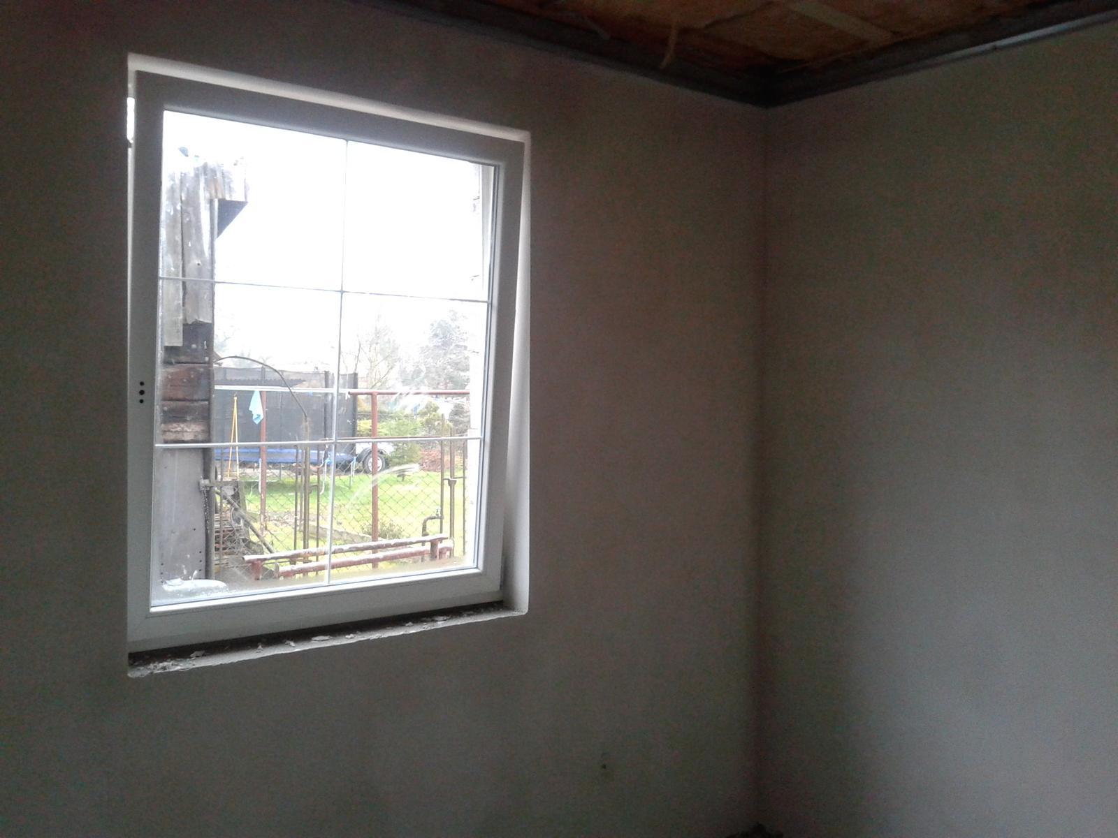 Domeček rekonstruujeme pro rodiče - Štuky v pokoji