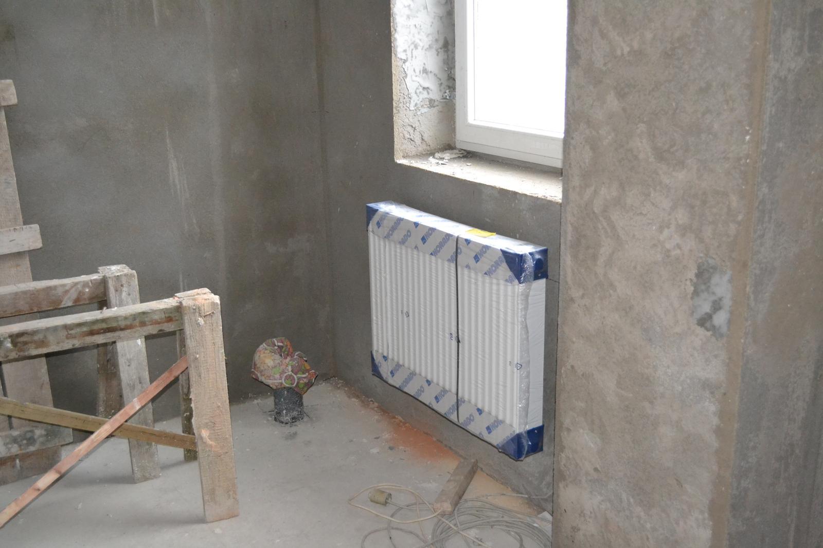 Domeček rekonstruujeme pro rodiče - v koupelně