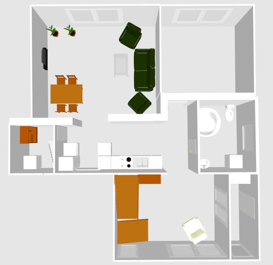 Rekostrukce našeho bydlení - Než našetříme na rekonstrukci přízemí budeme v provizoriu... apak se bude bourat a stavět a měnit kuchynska linka a podlahy...