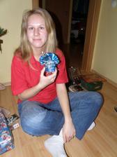 Vánoční zásnuby - v krabičce je prstýnek :-)