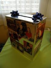 vyrobena krabice na přáníčka