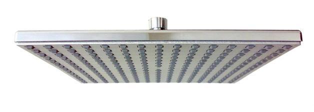 QUATRO - talířová horní sprcha 195 x 195 mm (pochromovaná mosaz)