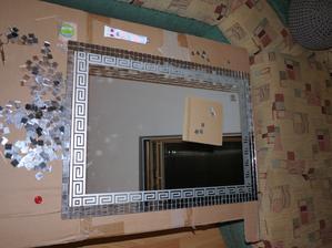 Renovace stareho zrcadla do koupelny