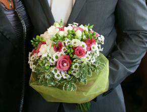 Kytice z květinářství Fantasi :-(
