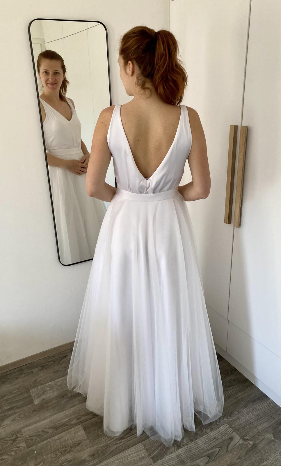 Svatební šaty vel 38/40 - Obrázek č. 2