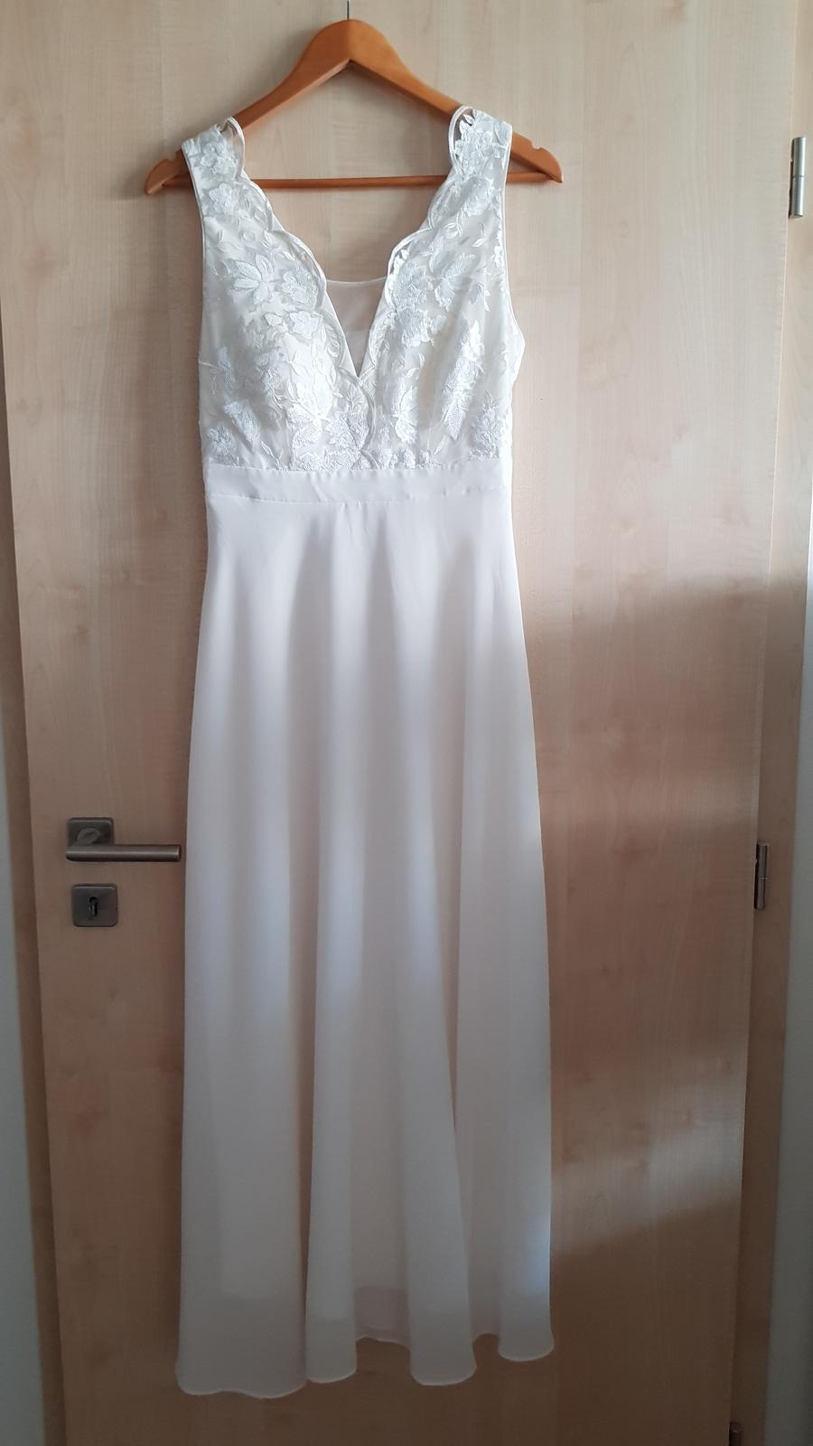Popůlnoční (svatební) šaty - nové - Obrázek č. 1