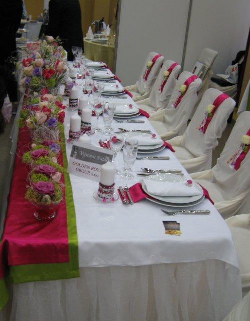 Výstava svadba 2010 KE - dekoracie - Obrázok č. 13