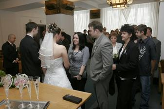 Gratulace svatebčanů 2