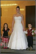 Nevěsta s neteří a synovcem (Jitunka a Vítek)