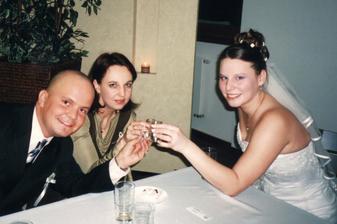 Nevěsta se svědkem a jeho přítelkyní (Rosťa a Leona)