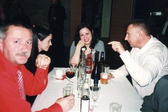 Zábava (Staňa, Saška, Jirka s manželkou)