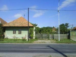 Pôvodný zelený domček.