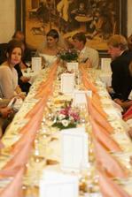 část svatební tabule