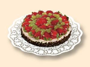 Tento dort s názvem Jahodová vášeň též nebude chybět
