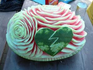 meloun místo dortu