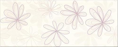 obklad - fialová Capri kvety
