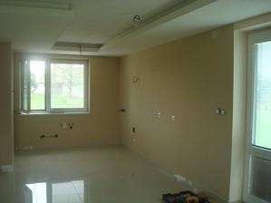 Kuchyňa ešte bez linky a elektrospotrebičov