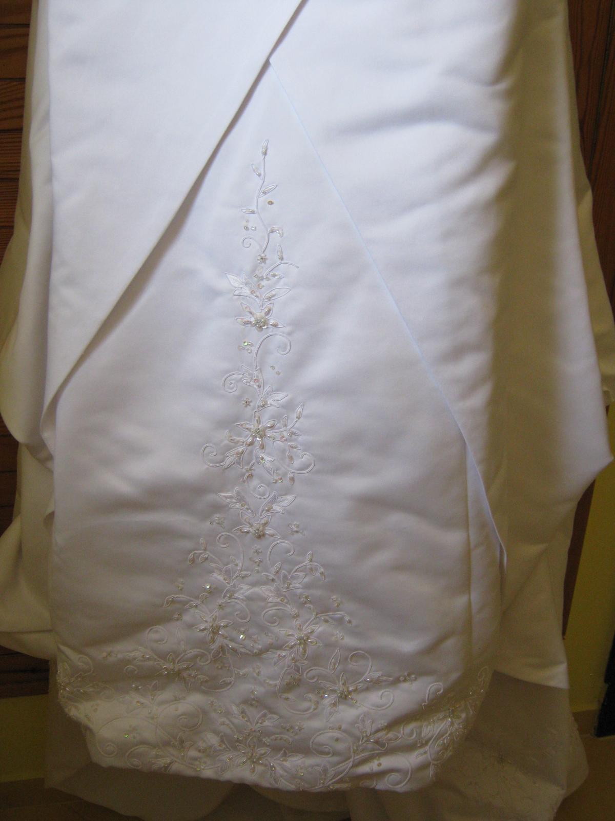 Korzetové svadobné šaty v.38-42 (na výšku 165cm) - Obrázok č. 2