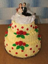 Náše svatební dorty...