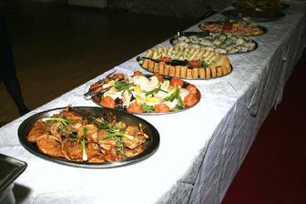 vecerni buffet... vseho chut