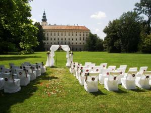Tady se bude pravděpodobně konat svatební obřad