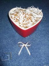 75 párů prstýnků svázáno a připraveno na výslužky :)