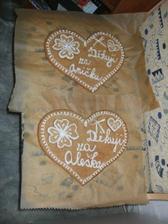 tohle dostanou rodiče jako poděkování...dorty jsme zamítli :)