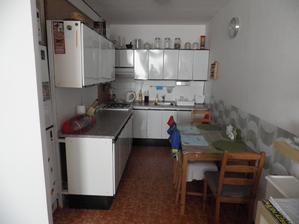 kuchyň po prodloužení