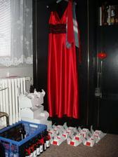 Svatební koutek v obýváku :-)