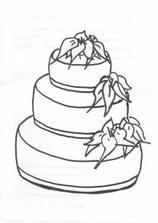 Takhle jsem cukrářce nakreslila představu o dortíku...no není to umlecké dílo:-)))