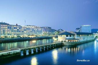 Hotel Mandarin Oriental v Ženevě, kam pojedem...Trocha luxusu o svatební cestě neuškodí:-))