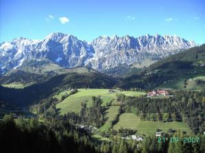 svatebka v Alpách
