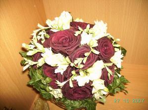 kytice usušená mrazem