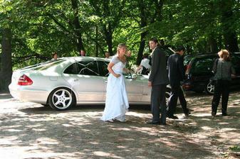 příjezd nevěsty