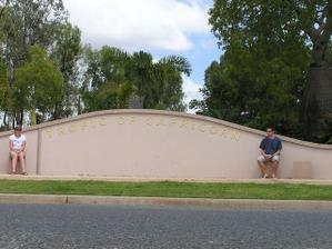 obratník kozoroha u města Rockhampton
