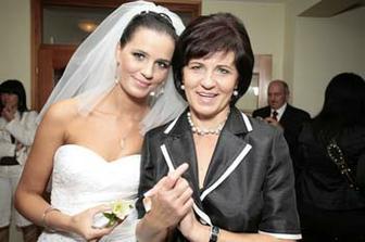 Veruska s maminkou...:-)