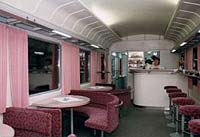 VLAK - Reštauračný vozeň (Pohľad 2)