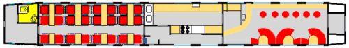 VLAK - Reštauračný vozeň (Plánik)