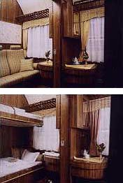 VLAK - Salónny vozeň (Pohľad 2)