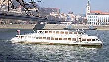 Loď Žilina v plnej kráse