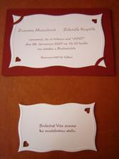 Svatební oznámení.