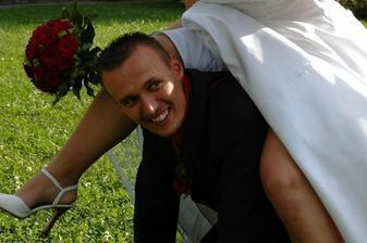 Už jsem si ženicha řádně osedlala
