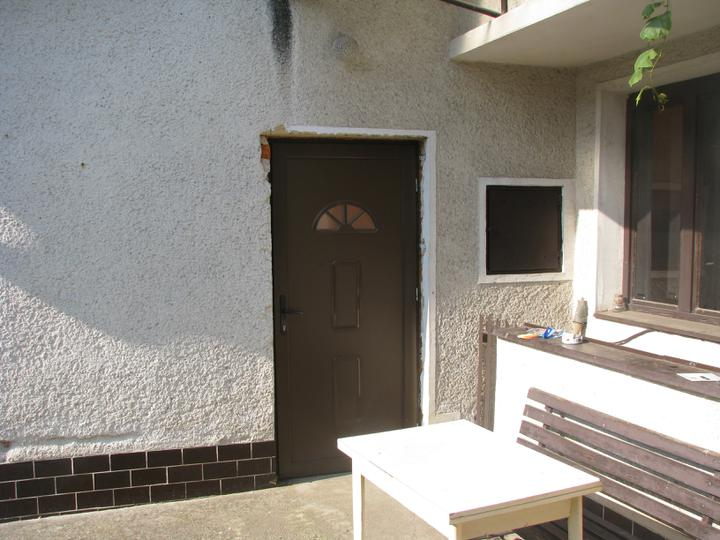 """Naša radosť a """"starosť"""" :) - Tento vchod do domu sa zrusi.."""