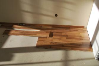 A ešte drevena podlaha- europsky orech