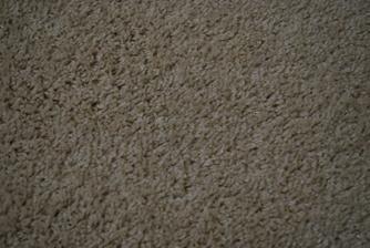 Detail koberec v spalni