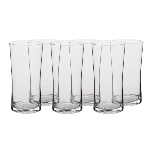 Co už máme - Koupené půllitry z Ikei- použiju je jako vázy, vyjde to levněji a vypadá to dobře!:-)