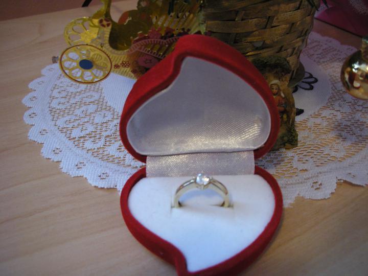 Inspiracie na Nasu Svadbu - moj snubny prstienok :)