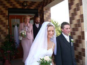 odjezd od nevěsty